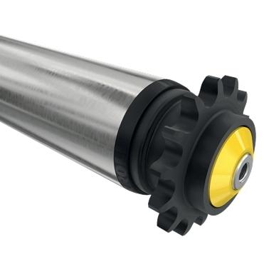 焊接件加工电动输送滚筒